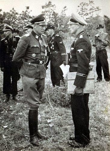 Heinz Lammerding 1944 France Le SSBrigadefhrer und Generalmajor der WaffenSS