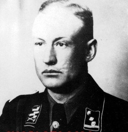 Heinz Lammerding Diekmann Adolf Rudolf Reinhold WW2 Gravestone