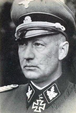 Heinz Lammerding 9 Dezember 1943 bis 26 Juli 1944 SSBrigadefhrer und Generalmajor