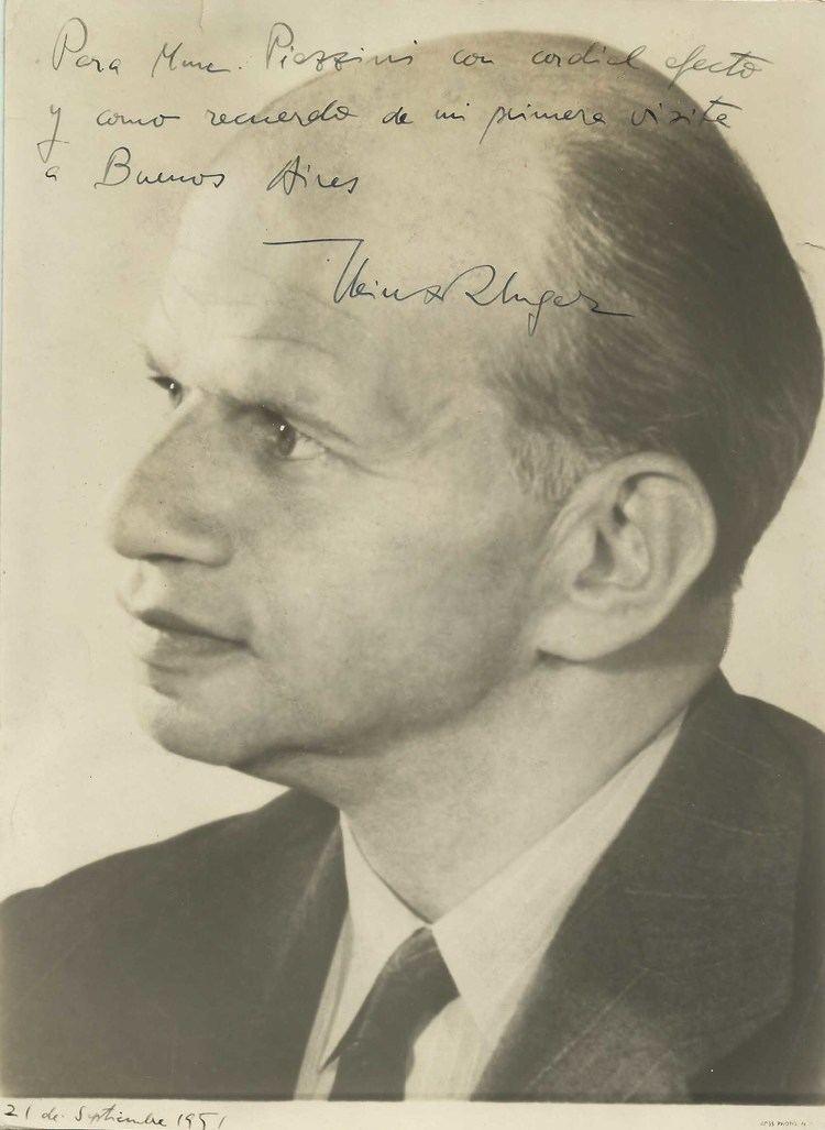 Heinz Unger Operarex HEINZ UNGER German Conductor Original Vintage HANDSIGNED