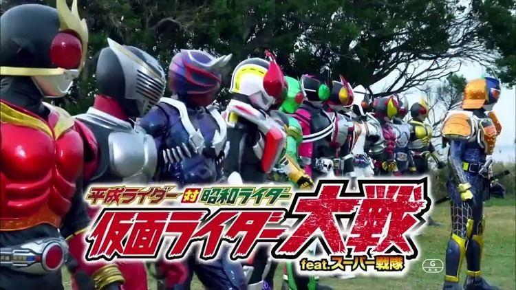 Heisei Rider vs. Showa Rider: Kamen Rider Taisen feat. Super Sentai movie scenes