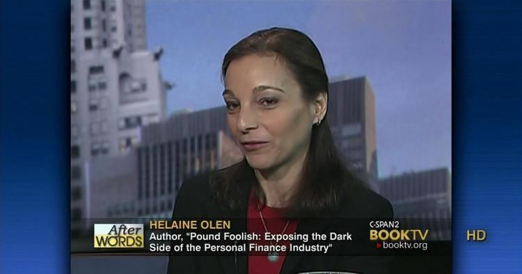 Helaine Olen Words Helaine Olen Jan 8 2013 Video CSPANorg