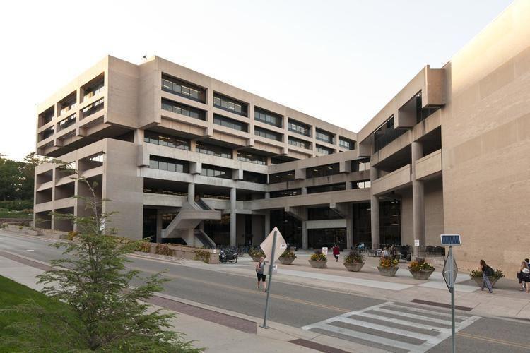 Helen C. White Helen C White Hall University of Wisconsin brutalism