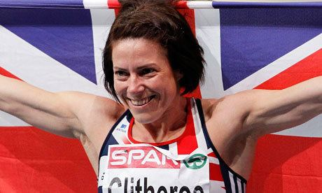 Helen Clitheroe Helen Clitheroe grabs gold for Britain in European Indoor