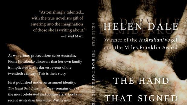 Helen Darville The Hand that Signed The Papers Helen Demidenko to publish new novel