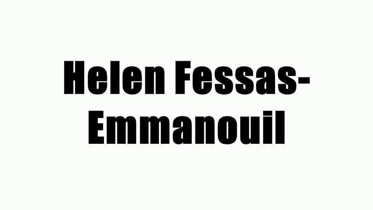 Helen Fessas-Emmanouil Helen FessasEmmanouil YouTube
