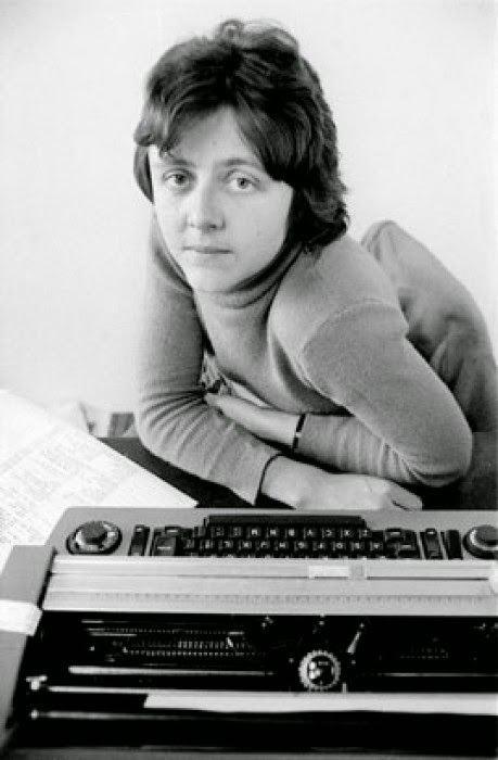 Helen Garner ozTypewriter Helen Garner and her Corona 3 Portable