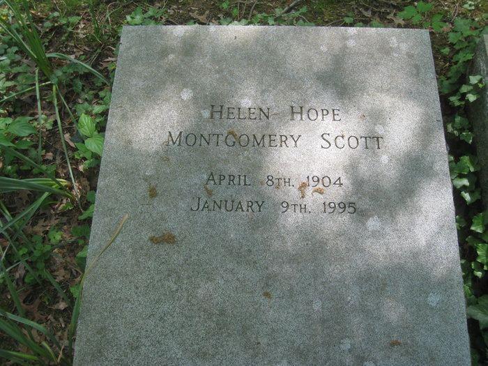 Helen Hope Montgomery Scott Helen Hope Montgomery Scott 1904 1995 Find A Grave Memorial