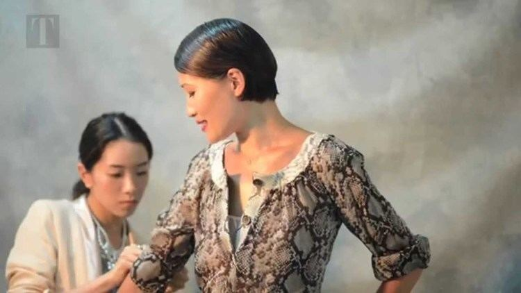 Helen Ma (skater) Behind the Scenes with Helen Ma and Michael Kors YouTube