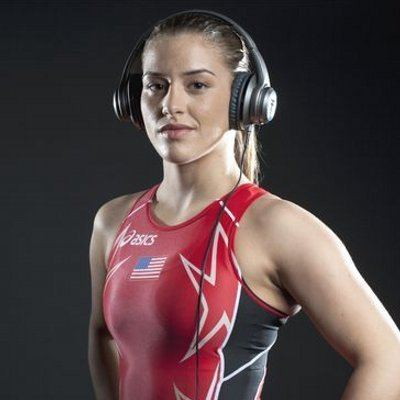 Helen Maroulis Helen Maroulis 2nd best hair in wrestling according to