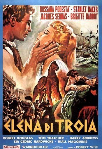 Helen of Troy (film) HELEN OF TROY 1956 Rosanna Podesta Stanley Baker Jacques