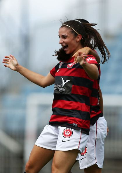 Helen Petinos Helen Petinos Pictures WLeague Rd 5 Western Sydney v