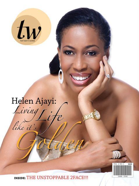Helen Prest-Ajayi Mag Covers Helen Prest Ajayi for TW Magazine