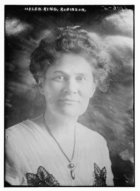 Helen Ring Robinson Helen Ring Robinson LOC Bain News Service publisher H Flickr