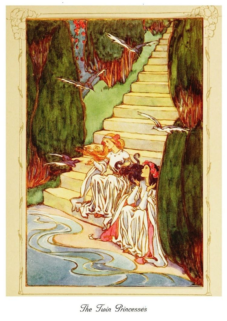 Helen Stratton Art of Narrative Helen Stratton The Lily of Life 1913
