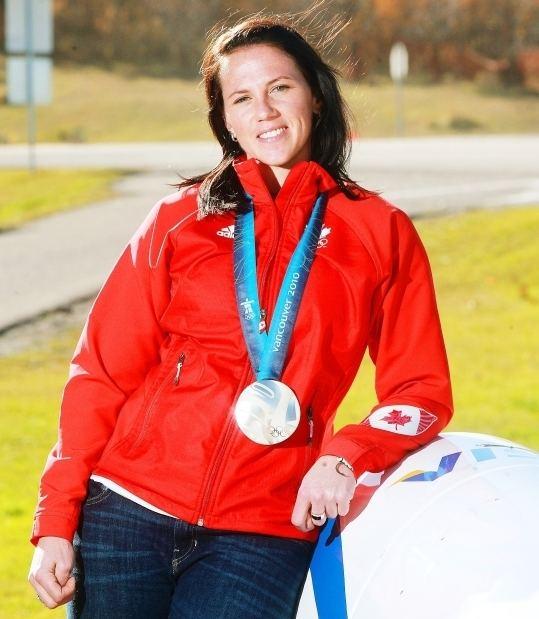 Helen Upperton Former Canadian bobsleigh star Helen Upperton joins WinSport