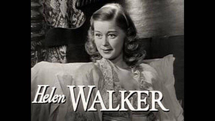 Helen Walker Helen Walker died here YouTube
