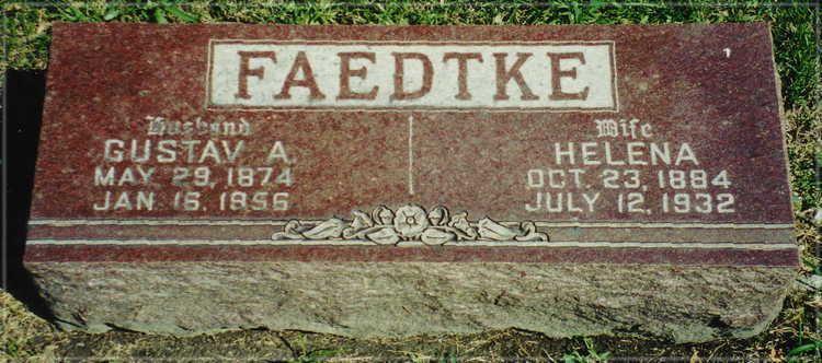 Helena Boettcher Helena Boettcher Faedtke 1884 1932 Find A Grave Memorial