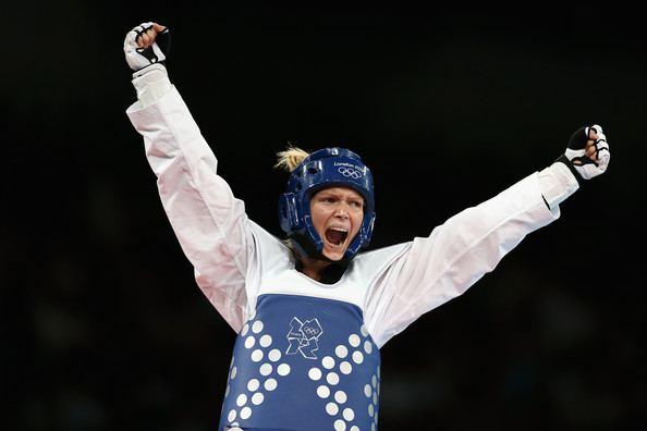 Helena Fromm Helena Fromm Pictures Olympics Day 14 Taekwondo Zimbio