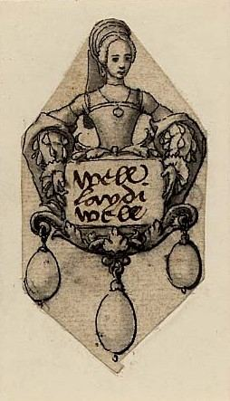Helena, Marchioness of Northampton Holbein Pendant of Helena Marchioness of Northampton tudorqueen6