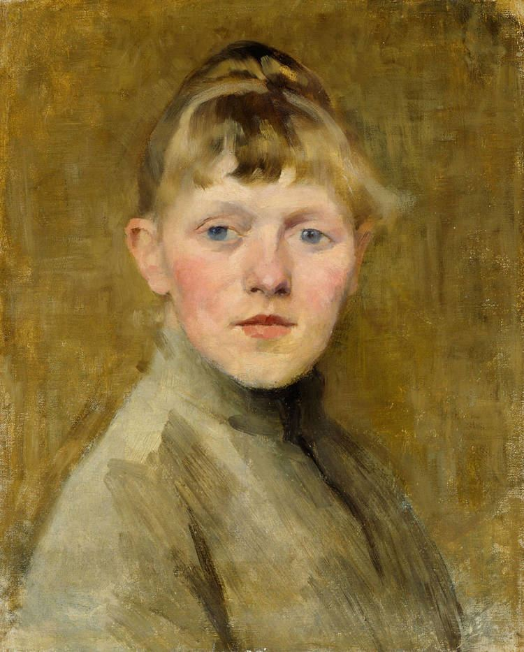 Helene Schjerfbeck It39s About Time Woman Artist SelfPortraits Helene