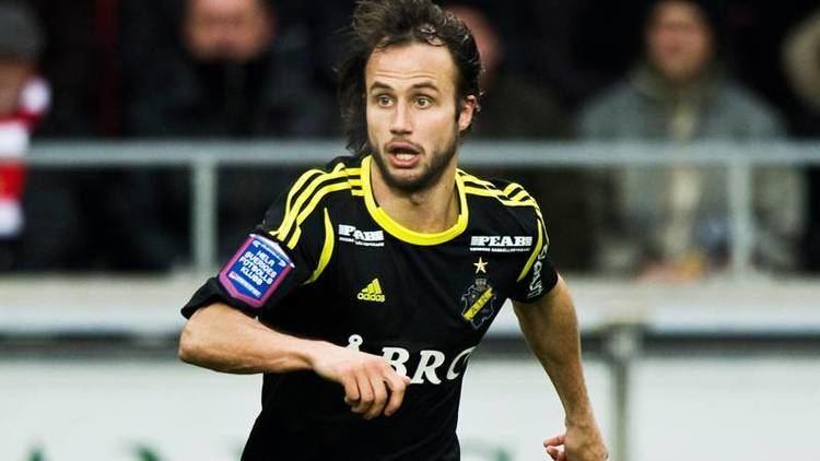 Helgi Danielsson Danielsson p vg till ster AIK Allsvenskan Sverige