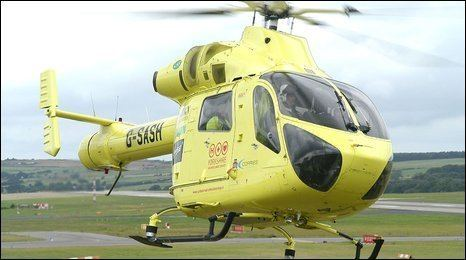 Helicopter Heroes BBC York amp North Yorkshire Helicopter heroes saved my life