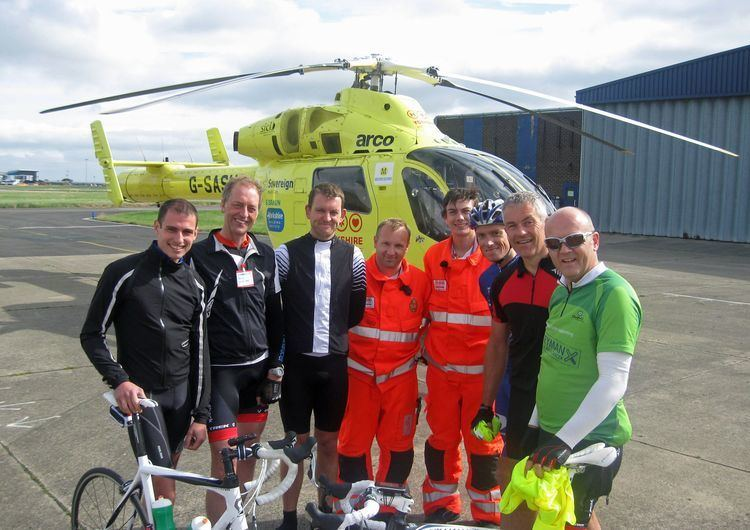 Helicopter Heroes News In Your Area Yorkshire Air Ambulance Cyclists raise over