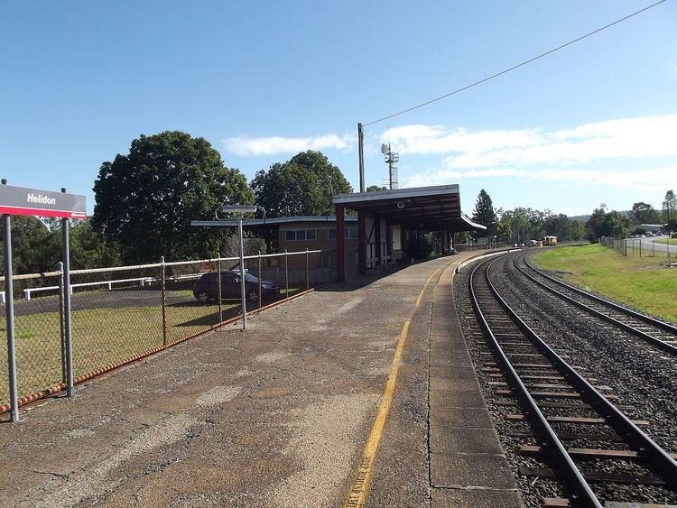 Helidon railway station