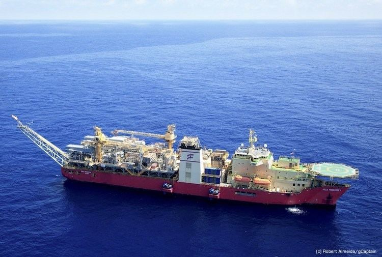 Helix Producer 1 The First ShipShaped Production Unit in the Gulf of Mexico Helix