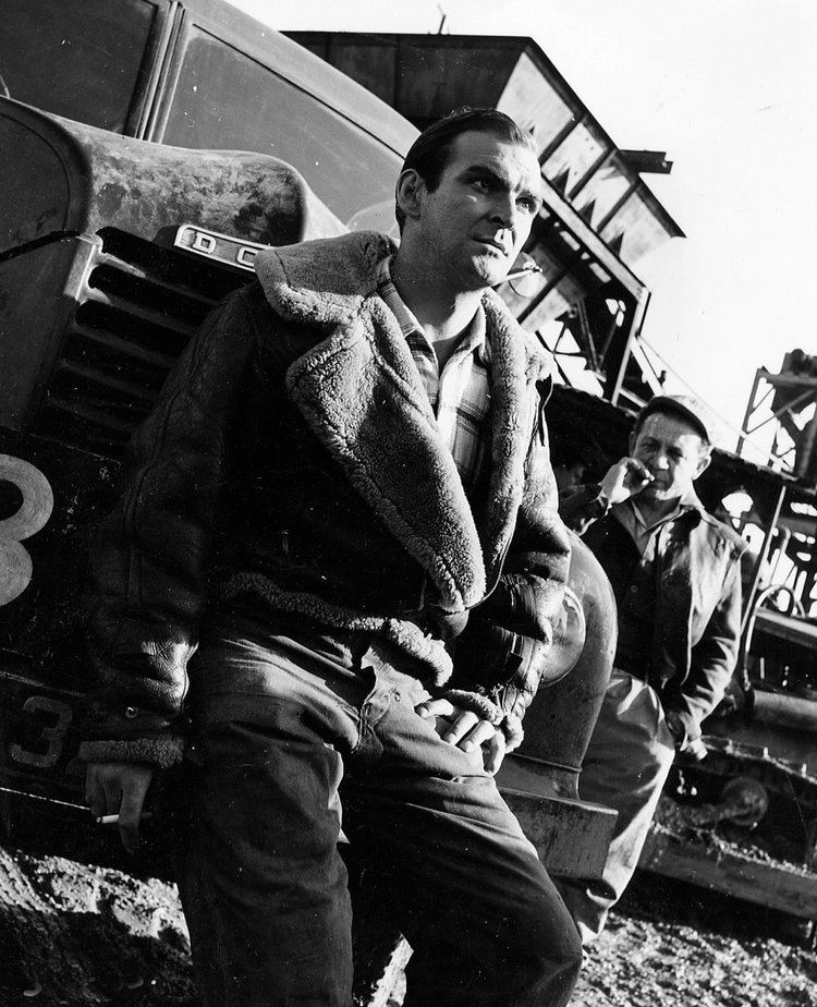 Hell Drivers (film) Hell Drivers Stanley Baker and Patrick McGoohan star in a British