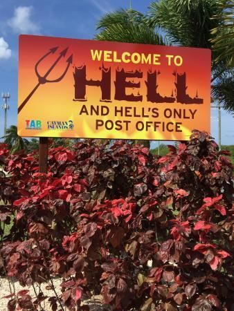 Hell, Grand Cayman Welcome to Hell Grand Cayman Picture of Hell Grand Cayman