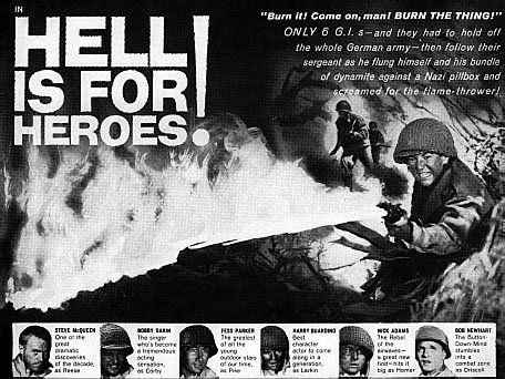 Hell Is for Heroes (film) BobbyDarinnetBobbyDarincom Hell Is for Heroes
