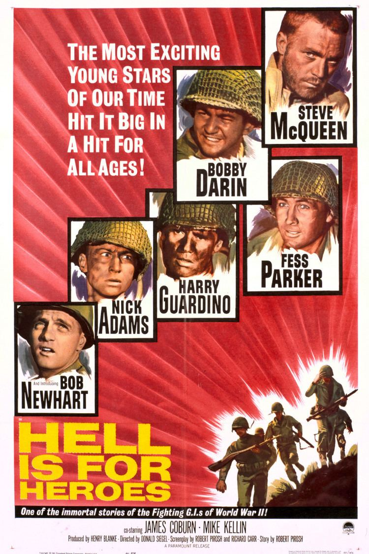 Hell Is for Heroes (film) wwwgstaticcomtvthumbmovieposters1509p1509p