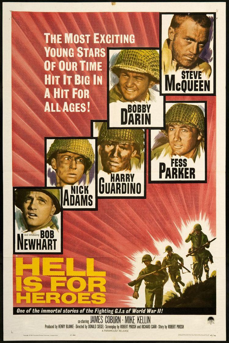 Hell Is for Heroes (film) Hell Is for Heroes Steve McQueen Pinterest Steve McQueen