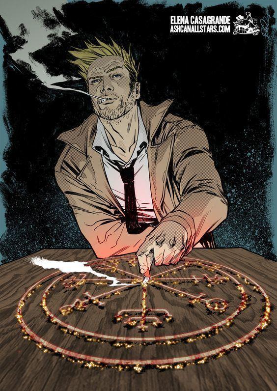 Hellblazer John Constantine by Elena Casagrande for quotHellblazerquot Week at