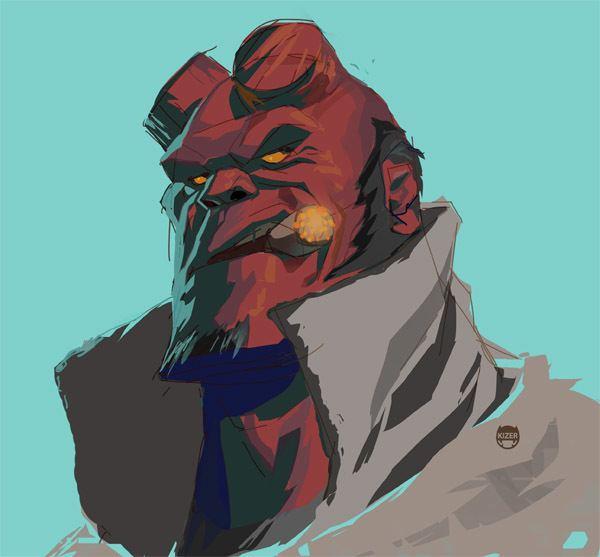 Hellboy hellboy DeviantArt
