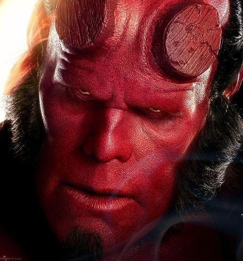 Hellboy hellboy hellboy Twitter