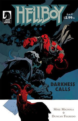 Hellboy: Darkness Calls Hellboy Darkness Calls 6 Profile Dark Horse Comics