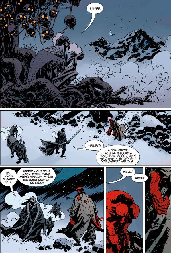 Hellboy: Darkness Calls hellboy darkness calls koschei Google Search Hellboy Pinterest