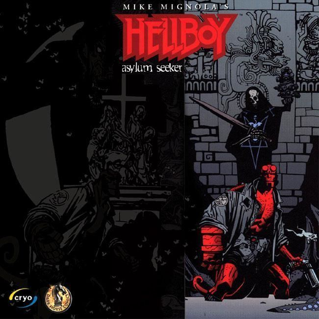 Hellboy: Dogs of the Night Hellboy Dogs of the Night 2000 Windows box cover art MobyGames