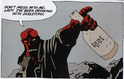 Hellboy: Strange Places I Love Rob Liefeld A Comic Book Blog Review Hellboy vol 6