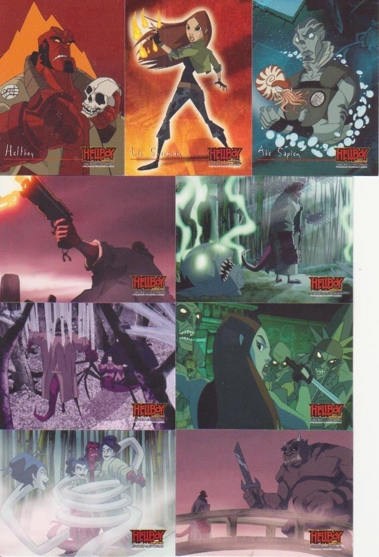 Hellboy: Sword of Storms Random Box Break Inkworks Hellboy Animated Sword of Storms Shot