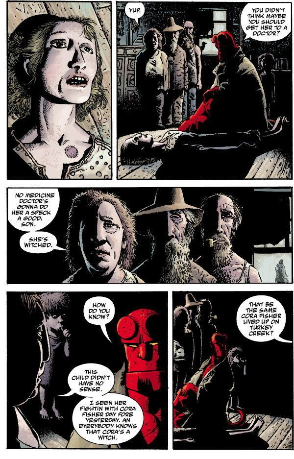 Hellboy: The Crooked Man and Others Hellboy The Crooked Man 1 Profile Dark Horse Comics