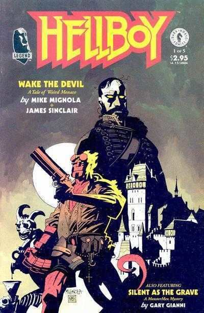Hellboy: Wake the Devil Hellboy Wake the Devil 1 Chapter One Issue