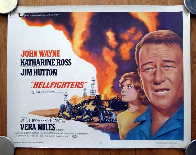 Hellfighters (film) movie scenes Hellfighters 1969 Archive JWMB The Original John Wayne Message Board