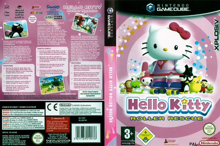 Hello Kitty: Roller Rescue GH6P7N Hello Kitty Roller Rescue