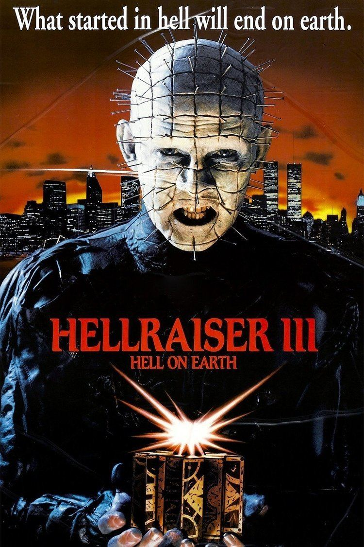 Hellraiser III: Hell on Earth wwwgstaticcomtvthumbmovieposters14219p14219