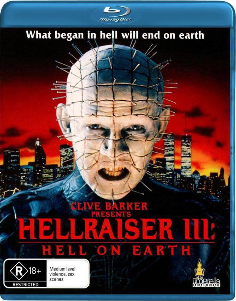 Hellraiser III: Hell on Earth Hellraiser III Hell on Earth Bluray Australia