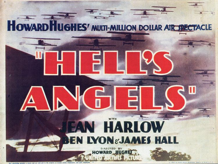 Hell's Angels (film) Hells Angels the perils of plot vs action Girls Do Film
